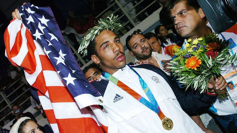 Andre Ward won the Olympic light-heavyweight gold in 2004