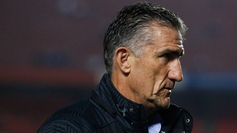 Edgardo Bauza lasted just eight months in charge of Argentina