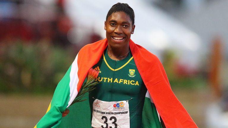 Semenya faces stiff competition in top awards