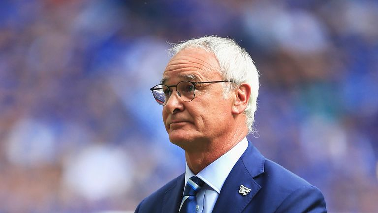 Claudio Ranieri's Leicester City are nominated for the Breakthrough of the Year award