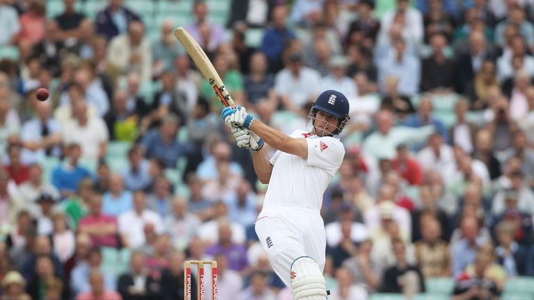 Cook is set to overtake Alec Stewart as England's most capped Test player