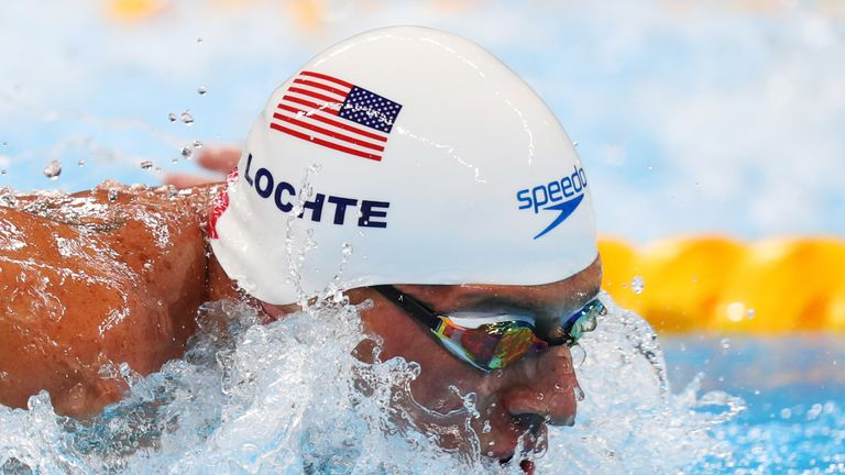 US Anti-Doping Agency suspends swimmer Ryan Lochte