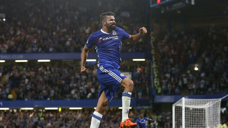 Diego Costa scored a late winner for Chelsea against West Ham on Monday Night Football