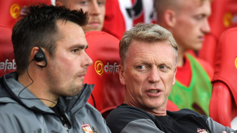 Moyes took over late in the summer following Sam Allardyce's departure