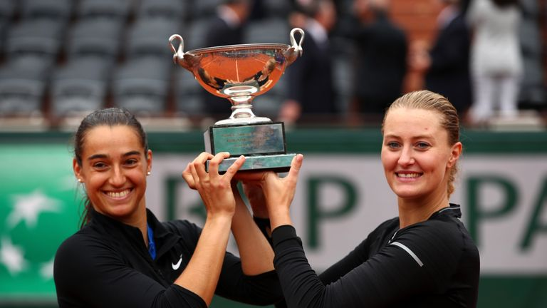 Mladenovic, Garcia and Paire suspended by French tennis fed