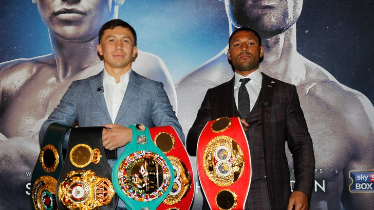 Kell Brook will challenge Gennady Golovkin for his middleweight titles next month