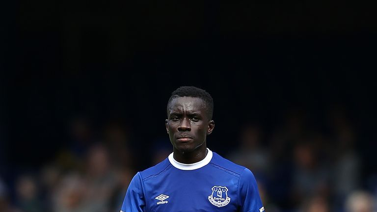 Idrissa Gueye was brought in from Aston Villa in the summer
