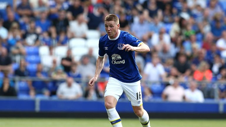 James McCarthy will be out for three weeks after having groin surgery