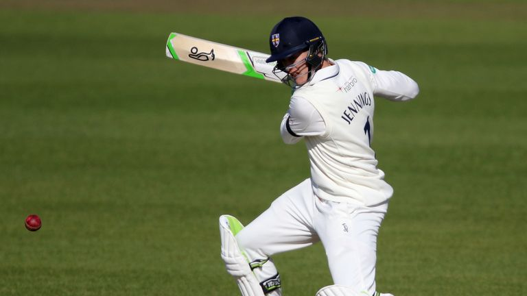 Durham batsman Keaton Jennings has scored 1,522 runs in just 16 County Championship matches this season