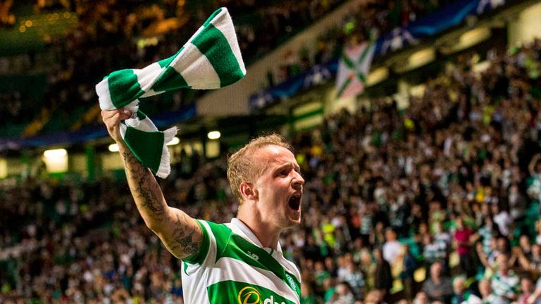 Celtic striker Leigh Griffiths had been scoring regularly before his injuries