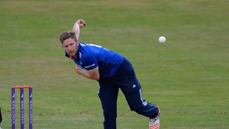 Dawson has played for England at ODI and T20 level