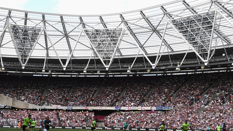 West Ham now play their home fixtures at the London Stadium in Stratford