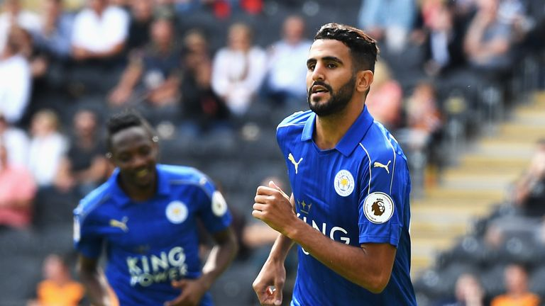 Riyad Mahrez scored 17 goals as Leicester claimed their first ever league title