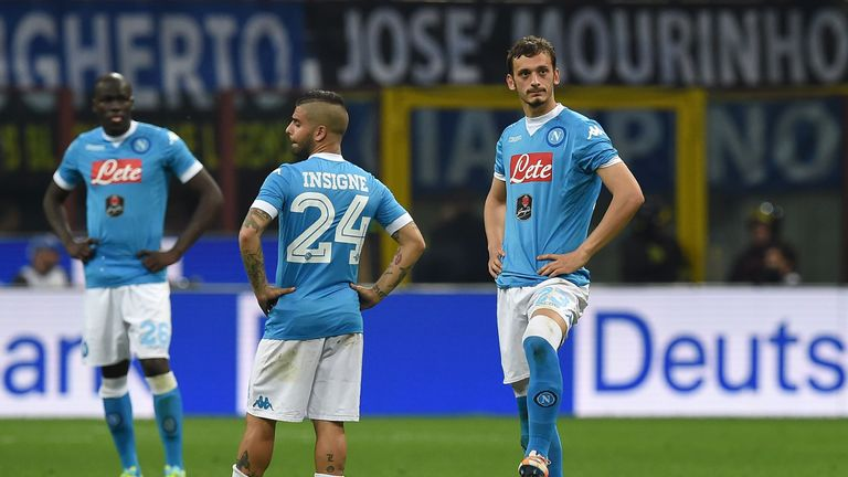 Manolo Gabbiadini joined Napoli in 2015 from Sampdoria