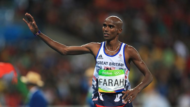 Mo Farah finished seventh in the Great Edinburgh International XCountry, his first event since being knighted in the New Year's honours