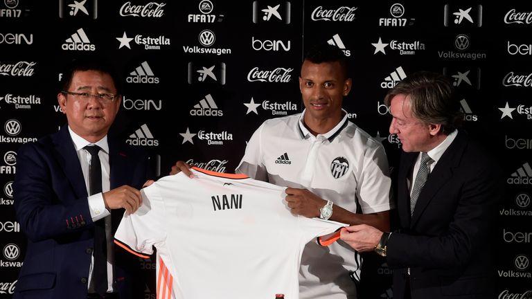 Valencia have signed former Manchester United winger Nani