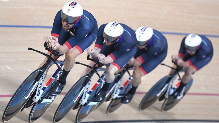 The men's pursuit team will look very different in Tokyo