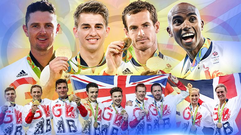 Team GB are raking in the medals at Rio 2016