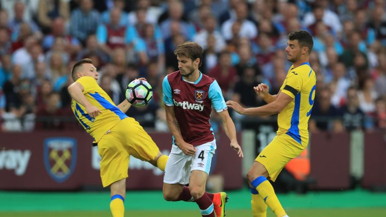Havard Nordtveit could be in line to start for West Ham