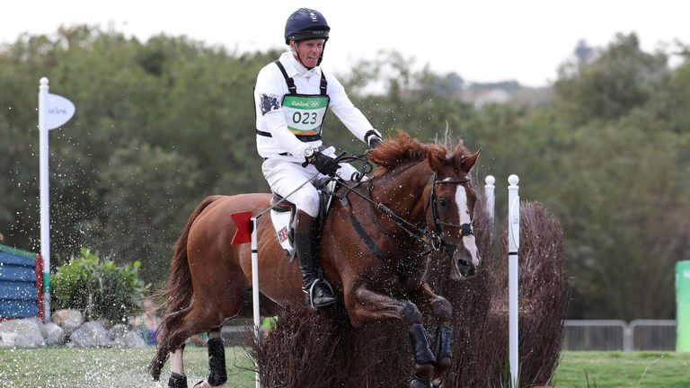 William Fox-Pitt could not close the gap on the leaders