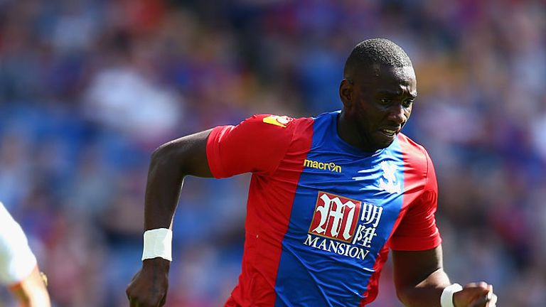 Yannick Bolasie came on as a second-half sub in Palace's opening defeat to WBA