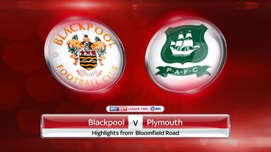 Blackpool 0-1 Plymouth