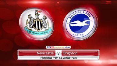 Newcastle 2-0 Brighton