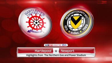 Hartlepool 2-2 Newport