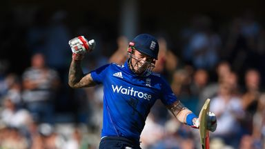 Alex Hales returns to the England ODI squad for the West Indies tour