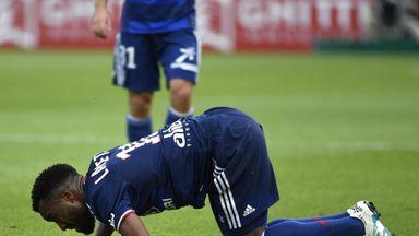 Alexandre Lacazette is a doubt for France