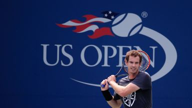 Andy Murray will try to repeat his 2012 title win at the US Open