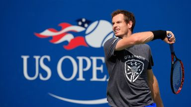 Andy Murray is close behind favourite Novak Djokovic to win the US Open with the bookies