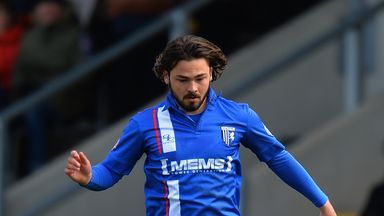 Bradley Dack has been with Gills since a youth from 2012 onwards
