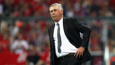 Carlo Ancelotti could face action from the German FA after his gesture to the Hertha fans