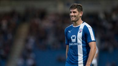 Ched Evans: May have suffered injury setback