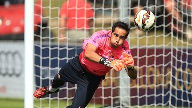 Former Real Sociedad Claudio Bravo goalkeeper has joined City