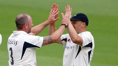 Darren Stevens (3-47) claimed three of the first four wickets to fall in Gloucestershire
