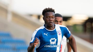 Gboly Ariyibi played for Chesterfield before joining Nottingham Forest