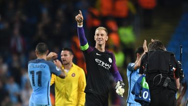 City 'keeper Joe Hart appears to be heading to Serie A