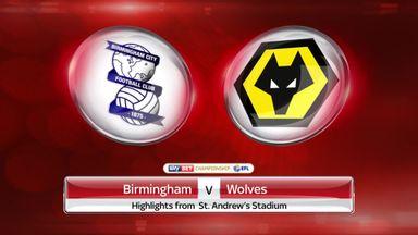 Birmingham 1-3 Wolves