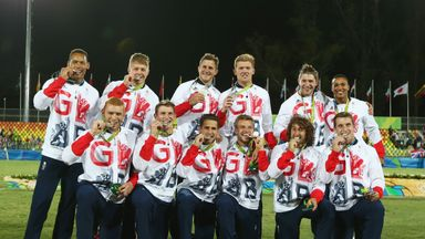 Great Britain won silver at the Rio Olympics last year