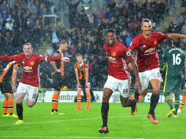 Marcus Rashford has scored in consecutive Premier League games for the first time