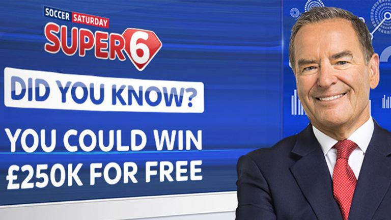 Soccer Saturday Super 6: Can you win the jackpot?