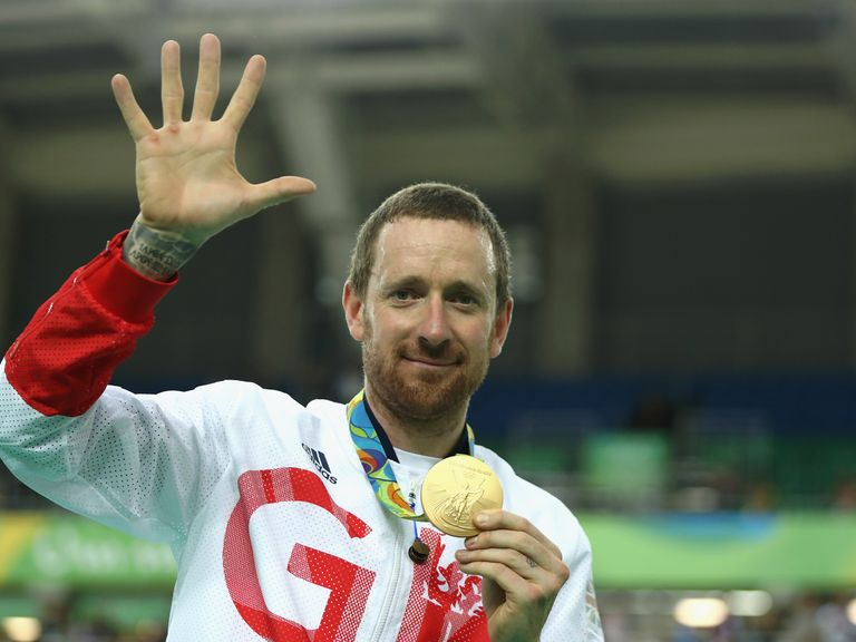 Sir Bradley Wiggins: Won the his fifth Olympic gold medal of his career at Rio 2016