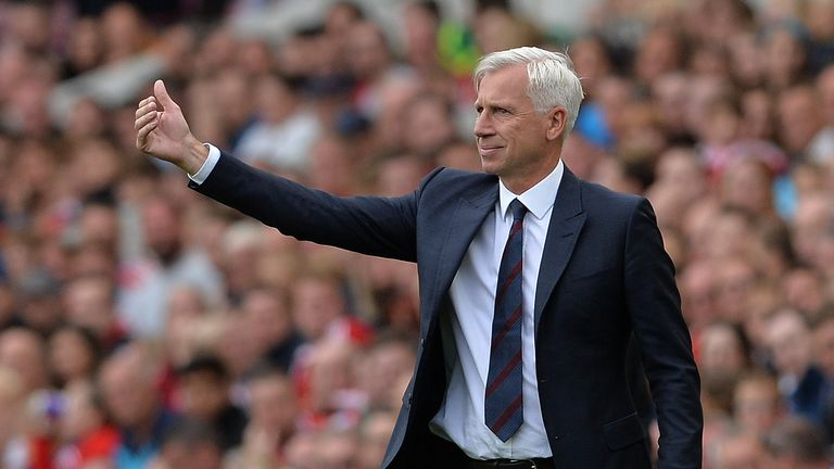 Pardew has guided Palace into seventh place in the Premier League