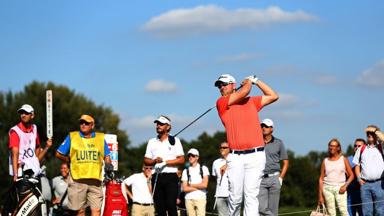 Ryder Cup wildcard Pieters out of Dutch Open with bee sting