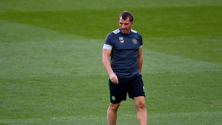 Brendan Rogers does not feel under pressure to pick Griffiths