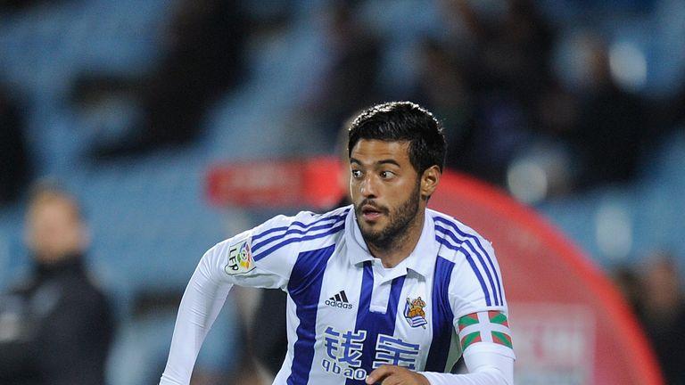Vela spent six seasons with La Liga outfit Real Sociedad