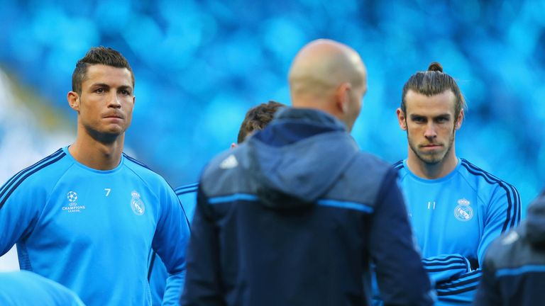 Cristiano Ronaldo and Gareth Bale could renew their partnership against Espanyol