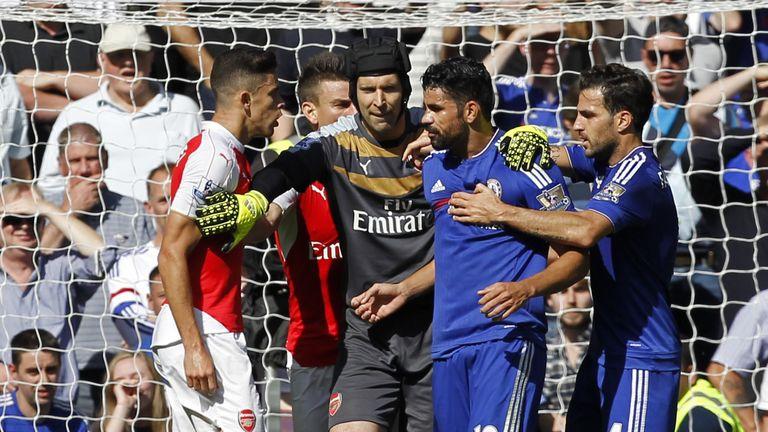 Arsenal host Chelsea on Saturday evening